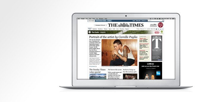 The Times & The Sunday Times Student Discount