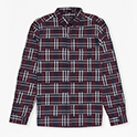 Ikat Check Shirt